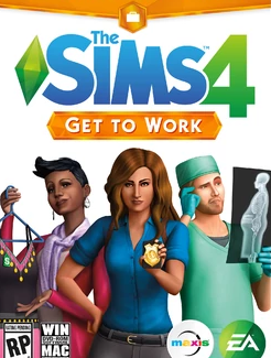 The Sims 4 get to work, arbejdstid