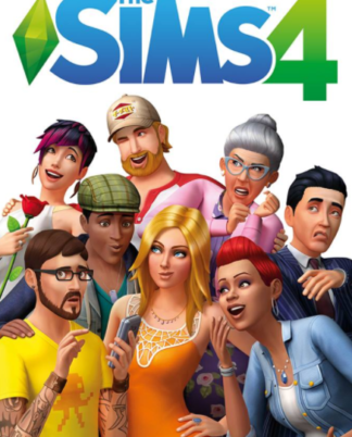 The Sims 4 front cover, billig cd key