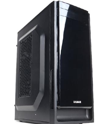Zalman ZM-T2 PLUS - Minitower - micro-ATX - ingen strømforsyni